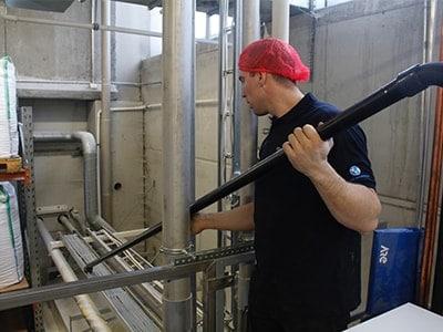 Reinigung in der Lebensmittelverarbeitung